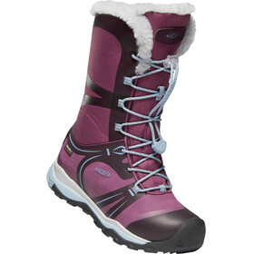 Keen Junior Terradora WP Winter Shoes winetasting/tulip